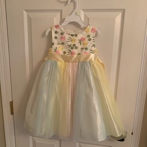 Other - NWOT Beautiful multicolored dressy dress